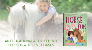 Horse Fun educational activity book for horse-crazy kids.