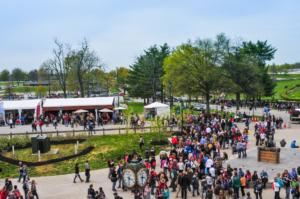 Kentucky Horse Park crowds at Equitana USA