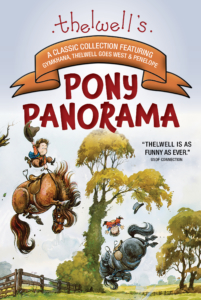 Pony bucking child off Thelwell's Pony Panorama