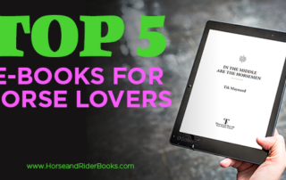 Top 5 e-books for horse people hand holding tablet