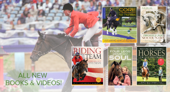 horse jumping new books