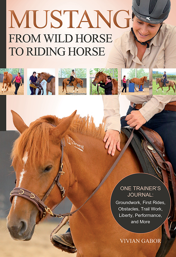 woman and horse mustang book