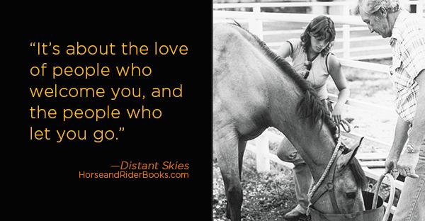 DistantSkiesQABlogweb-horseandriderbooks