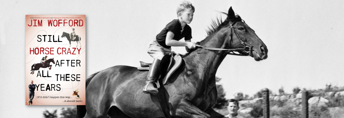 little boy jumping horse Jim Wofford eventing